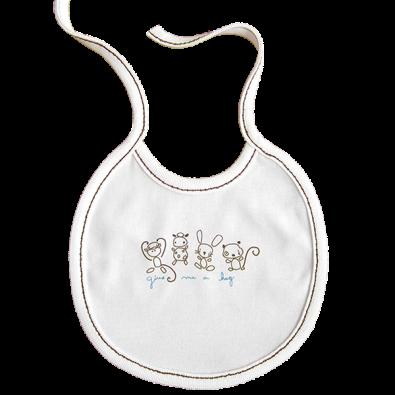 Бебешки лигавник с връзки