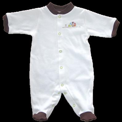 Бебешко гащеризонче с предно закопчаване