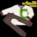 Дизайнерски Сет от 2 части, блуза и панталон