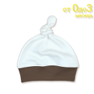 Бебешка шапка с възел