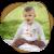 Бебешка ризка с цветна шевица